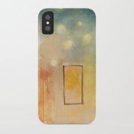 bird and open window iPhone Case