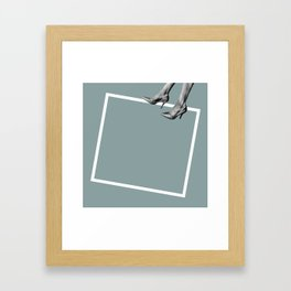Floating Point Framed Art Print