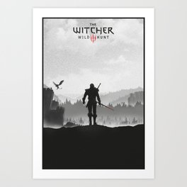 The Witcher: Wild Hunt Art Print