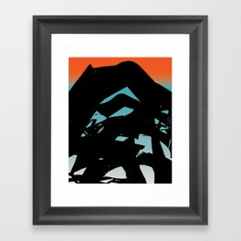 In The Language of Suns Framed Art Print