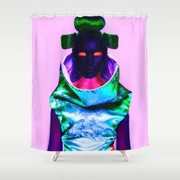 CyberGeisha X Shower Curtain