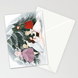 Noelle's Nook Readathon Illustration  Stationery Cards