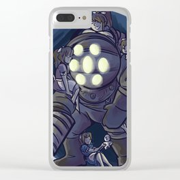 big daddy Clear iPhone Case