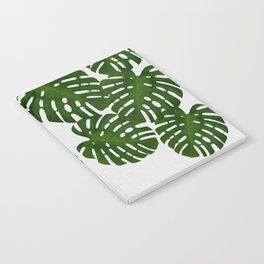 Monstera Leaf I Notebook