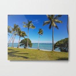 Fijian Summer Views Metal Print
