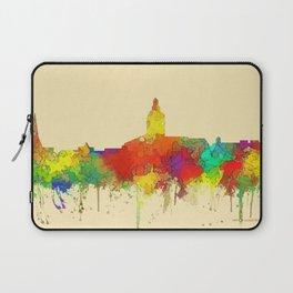 Annapolis city sky line watercolor -2 Laptop Sleeve