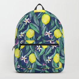 When Life Gives You Lemons - blue Backpack
