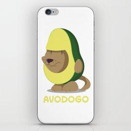 Delicious Avodogo - Dog & Avocado Lovers Shirt iPhone Skin