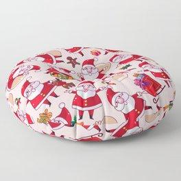 Santa Gift Pattern Floor Pillow