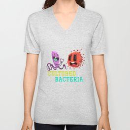 Cultured Bacteria Unisex V-Neck