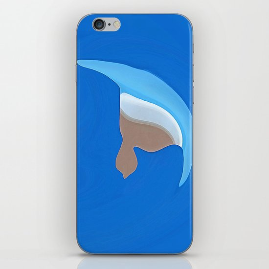 Tears out in the cold iPhone & iPod Skin
