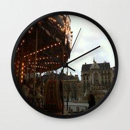 Noel a Paris Wall Clock