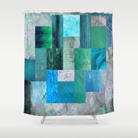 blues Shower Curtains featuring blues by Last Call