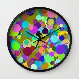 Circles #7 - 03122017 Wall Clock