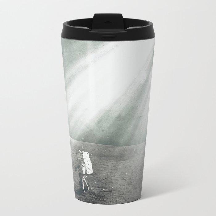 Opening Metal Travel Mug