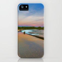 Colours of Ivanhoe Crossing iPhone Case