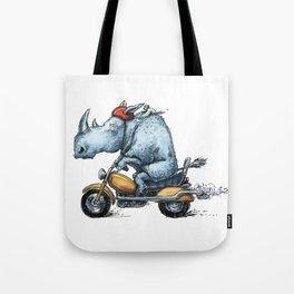 Motorhino Tote Bag