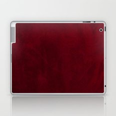 VELVET DESIGN - red, dark, burgundy Laptop & iPad Skin