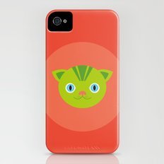 Charmed Cat iPhone (4, 4s) Slim Case