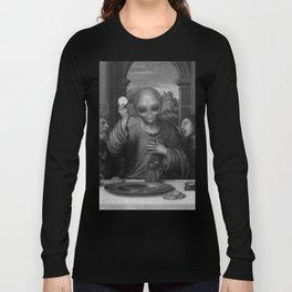 Alien Jesus Long Sleeve T-shirt