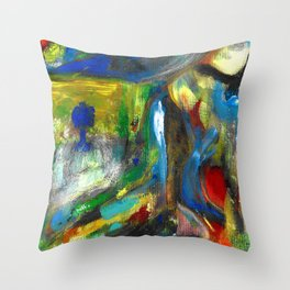 I have sent you nothing but angels Throw Pillow