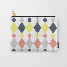 Rhombus and circle pattern Carry-All Pouch
