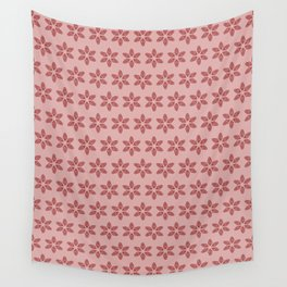 Practically Perfect - Vagina Petals in Pink Wall Tapestry
