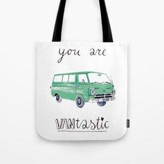you are VANtastic by Veronique de Jong Tote Bag