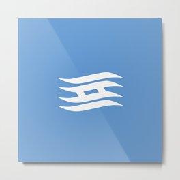 Flag of Hyogo Metal Print