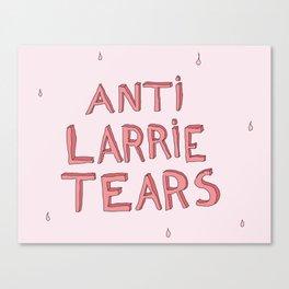anti larrie tears 4 Canvas Print