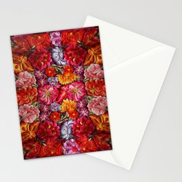 """""""Rose Huipil Embroidered"""" Stationery Cards"""