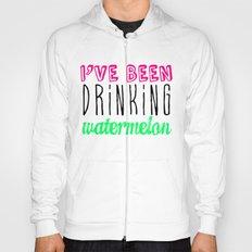 Drinking Watermelon Hoody