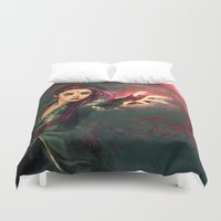 alicexz Duvet Covers featuring Traverse by Alice X. Zhang