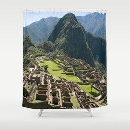 Machu hu Peru Shower Curtain