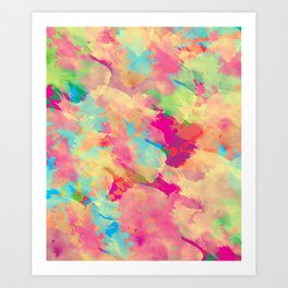Abstract 40 Art Print