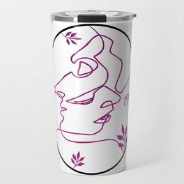 graphic design color Travel Mug