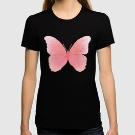 Watermelon pink butterfly T-shirt