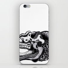 Illustration of a Ghost iPhone Skin