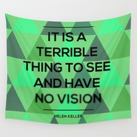 quotes Wall Tapestries featuring Quotes by Hannah Steyn