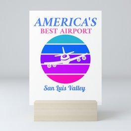 Best Airport: San Luis Valley   Mini Art Print