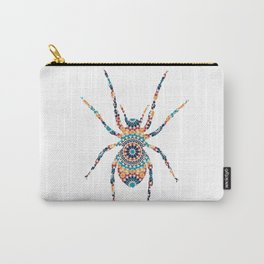 SPIDER SILHOUETTE WITH PATTERN Carry-All Pouch