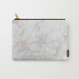 White Marble 004 Carry-All Pouch