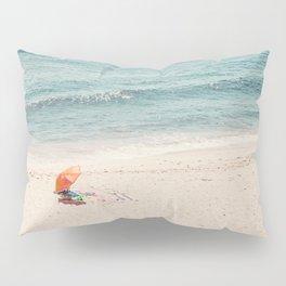 The Orange Beach Umbrella Pillow Sham