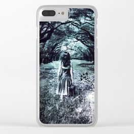 A scary unknown by GEN Z Clear iPhone Case