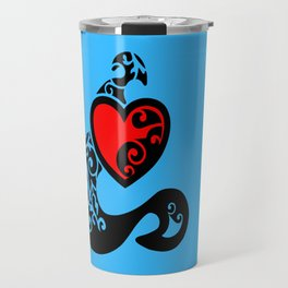 Tatted Heart Travel Mug