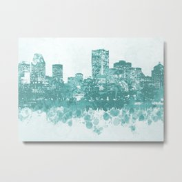 Design 89 Cityscape Metal Print