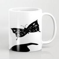 shadow Mugs featuring Shadow by Ruby_Dag