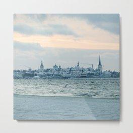 Tallinn Metal Print
