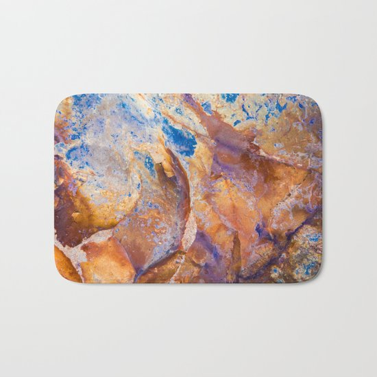 Face of Stone Bath Mat