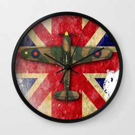 Hawker Hurricane Mk.I Wall Clock